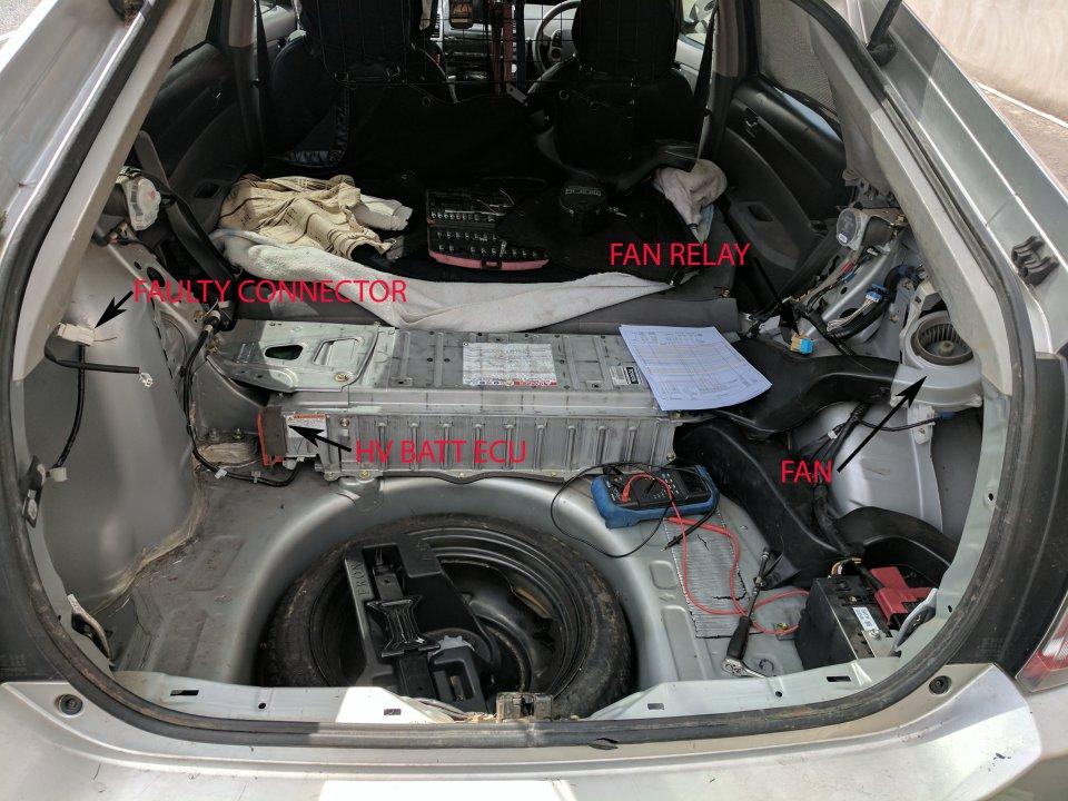 hv battery cooling fan