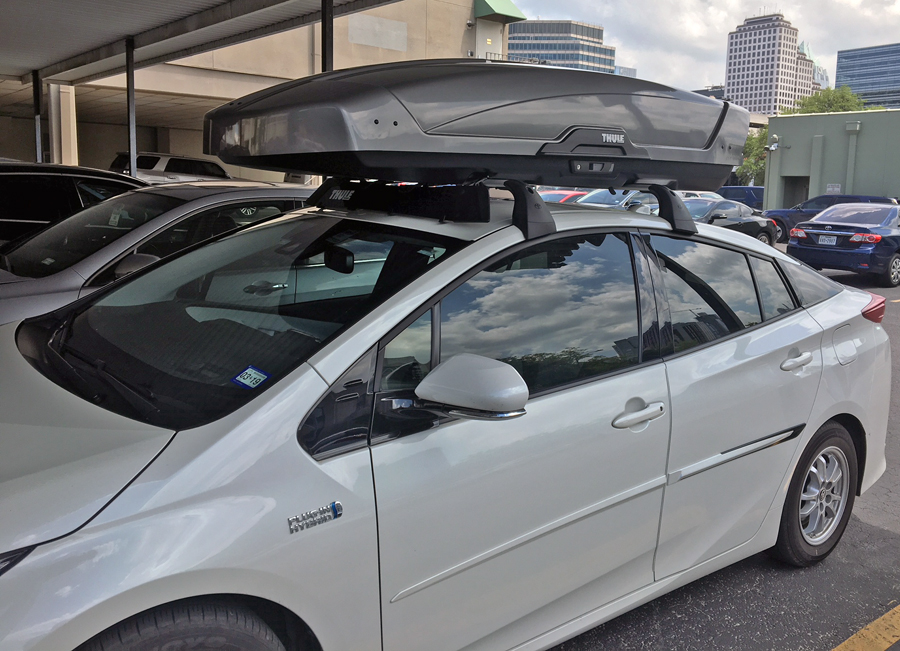 another roof rack cargo box thread