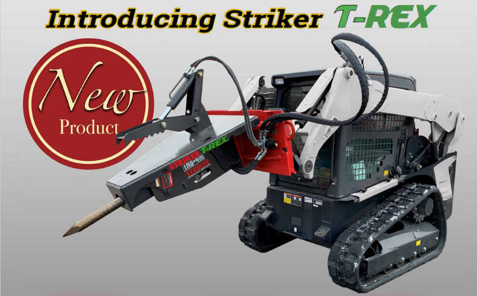 Striker T-REX Concrete Breaker With Thumb Combo
