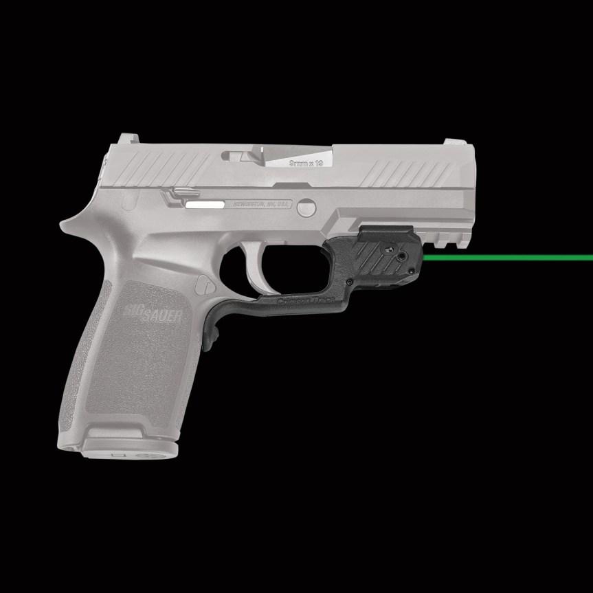 crimsontrace laser guard sig sauer p320 m17 m18 pistols 8