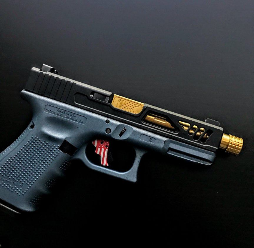 insanekydexcreations glock 43 threaded barrels 2