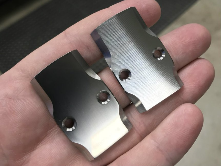 maple leaf firearms titanium rmr cover plates for glock pistol slides 3