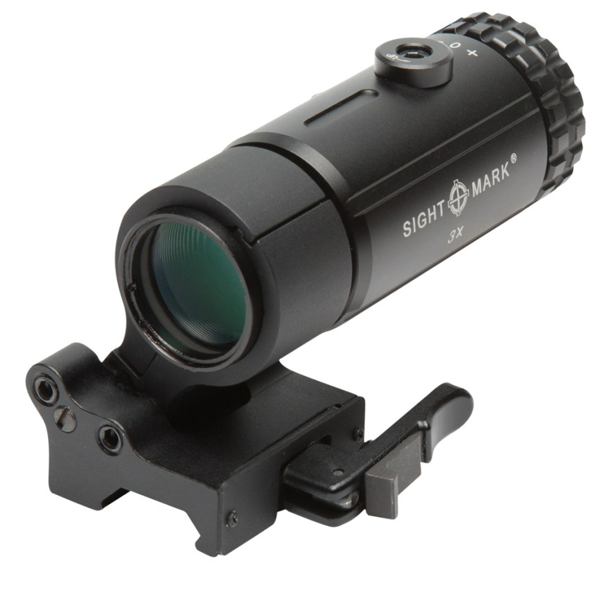 T-3 Magnifier with LQD Flip to Side Mount SM19063 1