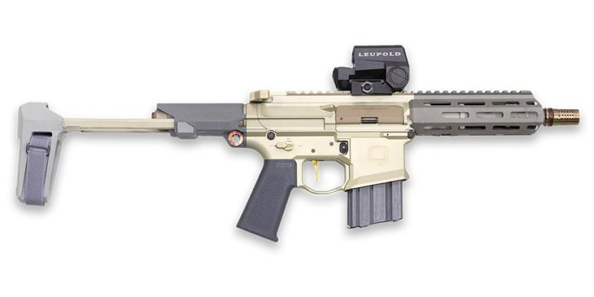 The Q honey badger pistol 300 blackout 2