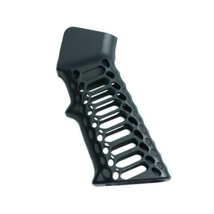 valkyrie dynamics cobra skeleton ar15 grip billet aluminum ar15 grip 1