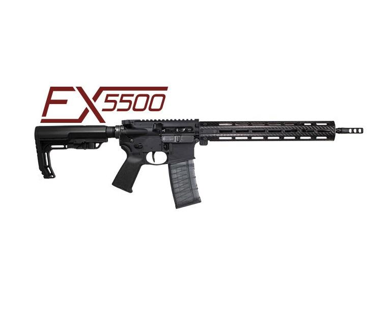 faxon firearms fx5500 ultralight ar15 lightest ar15 pencil barrrel racegun ar15 1
