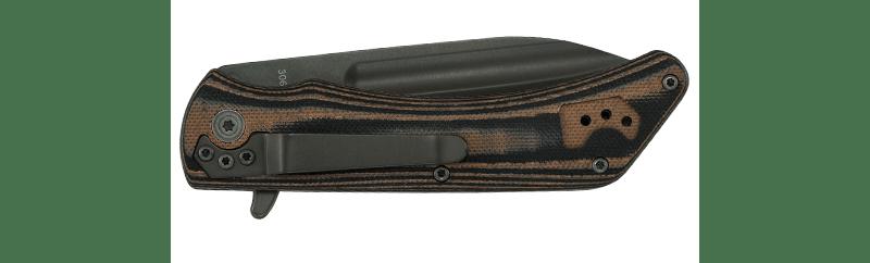 kabar model 3066 mark98 folder knife . flipper pocket knife . 5