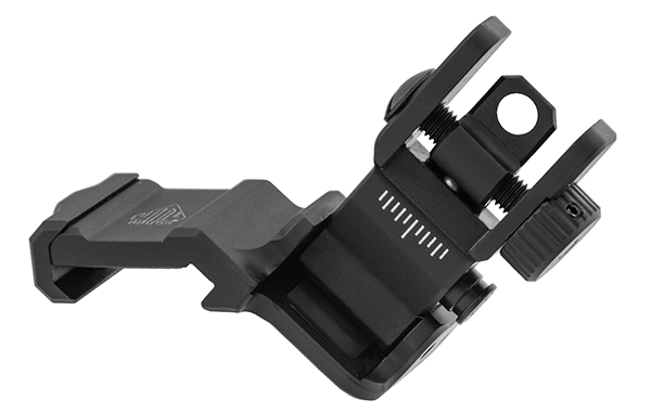 leapers utg ACCU-SYNC™ 45° ANGLE FLIP UP IRON SIGHTS MT-745 MT-945 1