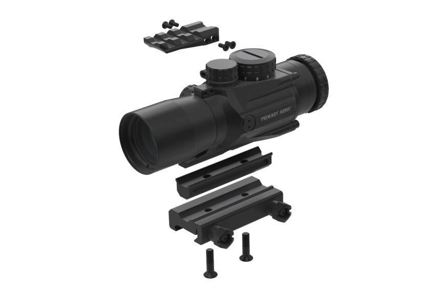 Primary arms gen ii 3x compact prisim scope illuminated acss cqb-m2 5.56 reticle PAC3X-GENII-ACSS-5.56 8