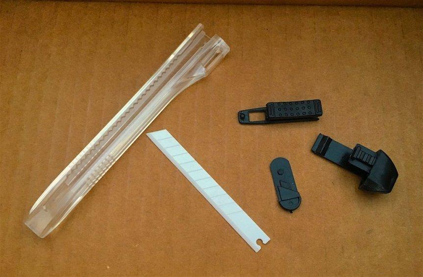 gearward ceramic utility knife non metal knife non magnetic knife sharp AF blade 3
