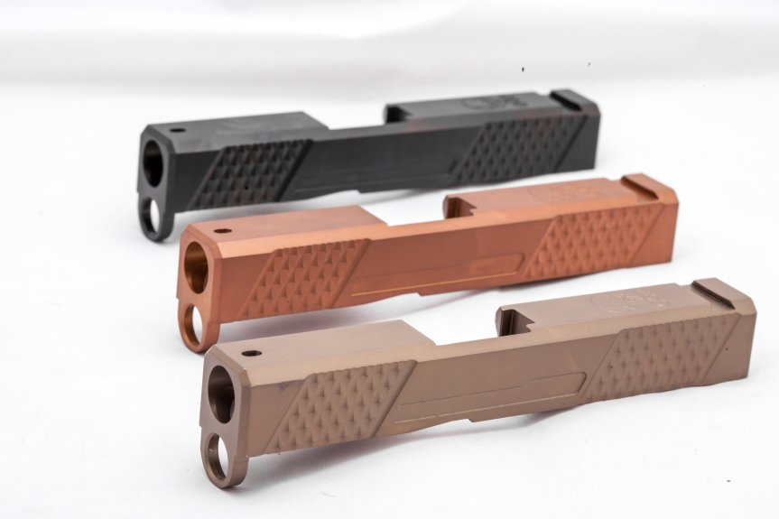 grey ghost precision 43 slides custom glock 43 slide custom slides GGP-SPG43-V1 4