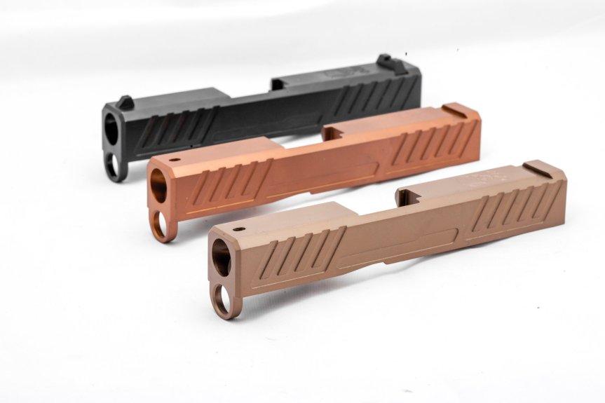 grey ghost precision 43 slides custom glock 43 slide custom slides GGP-SPG43-V1 5