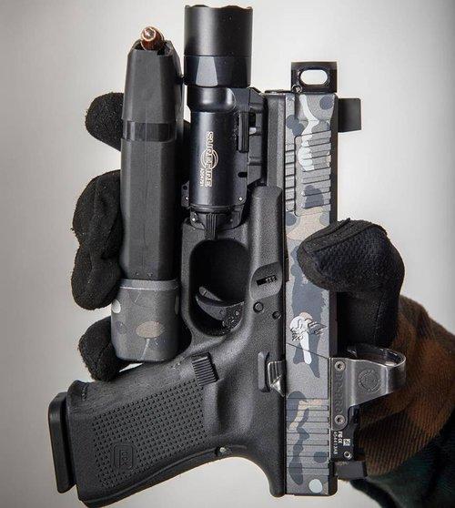 mayhem sydicate carry compensator system glock compensator for carrying a pistol small glock comp glock 19 custom glock 17 glock 26 gen 5 glock 1