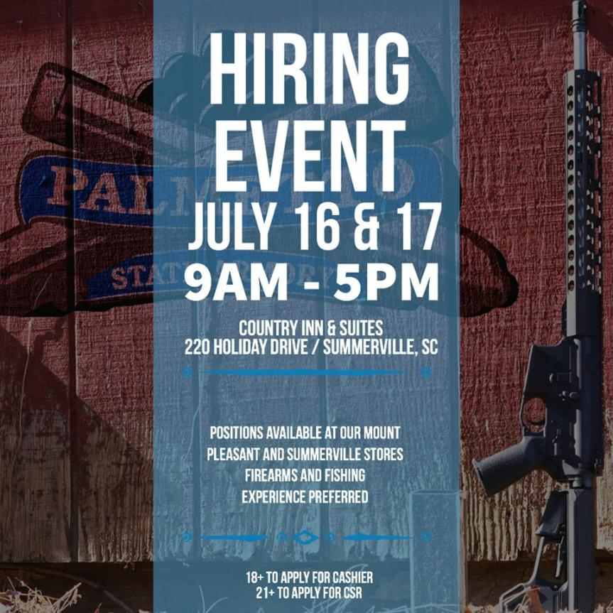 palmetto state armory is now hiring