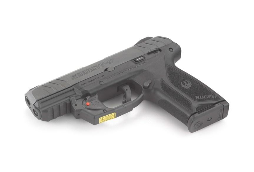 ruger security-9 pistol with viridian laser model 3816 4