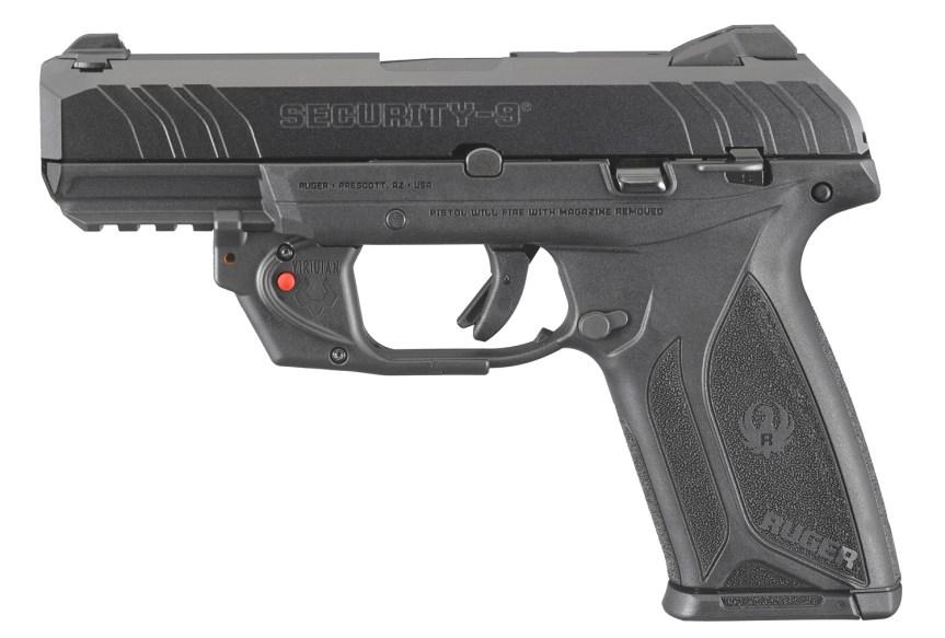 ruger security-9 pistol with viridian laser model 3816 7
