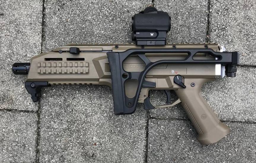 safety harbor firearms Stribog SP9A1 sig stock Stribog SP9A1 folding stock adapter cz scorpion sig stock cz scorpion sig mpx folding stock 1