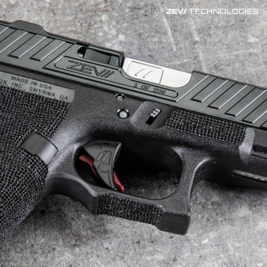 zev techonolgies glock slide. Raven glock slide. custom glock slide. slide serrations. 2