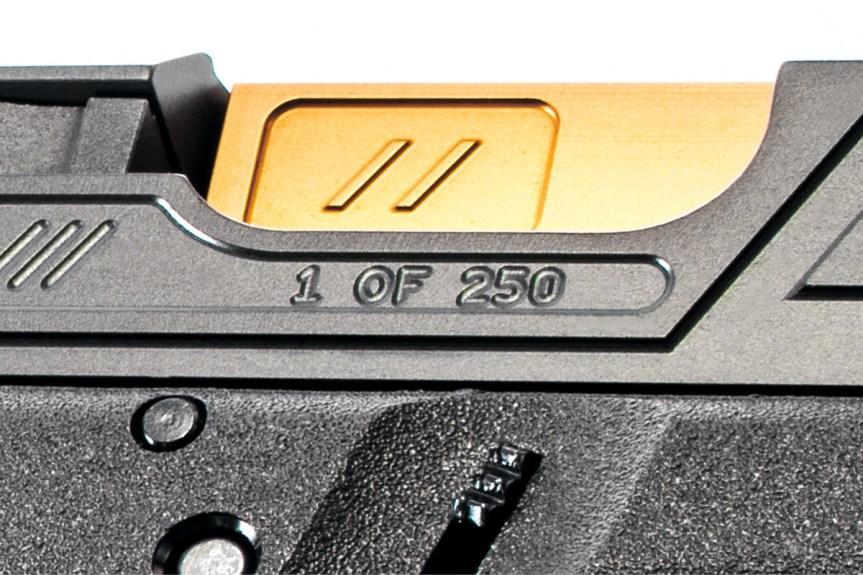 zev techonolgies glock slide. Raven glock slide. custom glock slide. slide serrations. 7