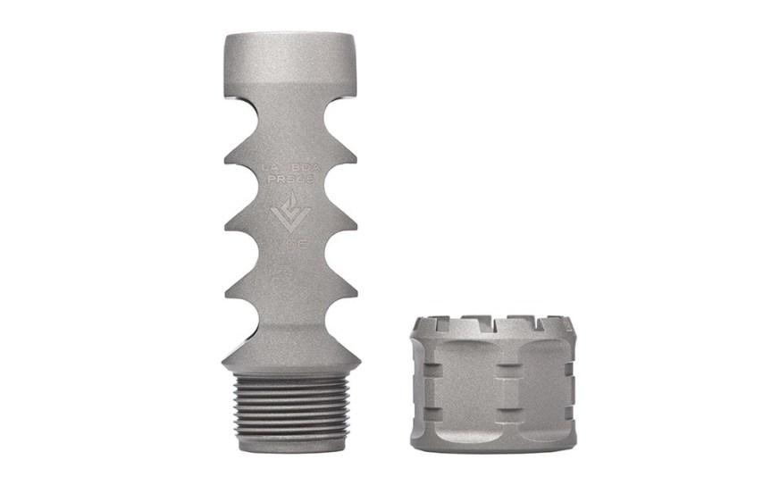 aero precision vg6 precision lambda prs muzzle brake. big bore muzzle brake APVG100031A APVG100029A 5