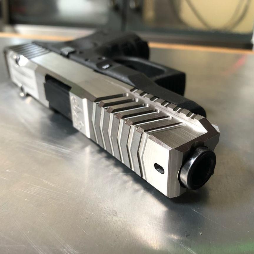 dv8 dynamics glock 26l glock 27l glock 26 long slide cut the grip on glock 19 to 26 aaa