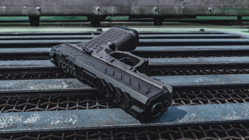 grey ghost precision ggp-cp compact pistol custom glock gucci glock tactical pistol 8