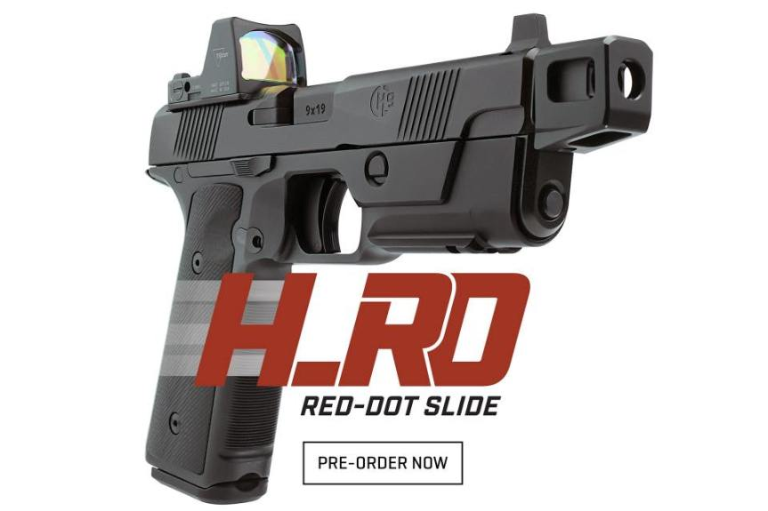 hudson h9 optic slide h9 slide cut custom hudson h9 pistol 6