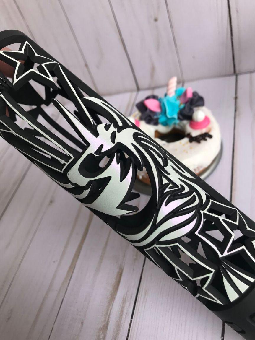 offhand gear unicorn hand guard girl gun pink gun princess gun pink rifle princess rifle unicorn rifle cute ar15 2