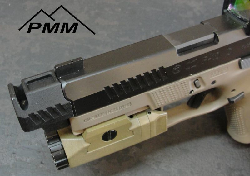 PARKER MOUNTAIN MACHINE COMPS compensator CZ P10C, H&K VP9, and Glock 9mm pmm jttc 3
