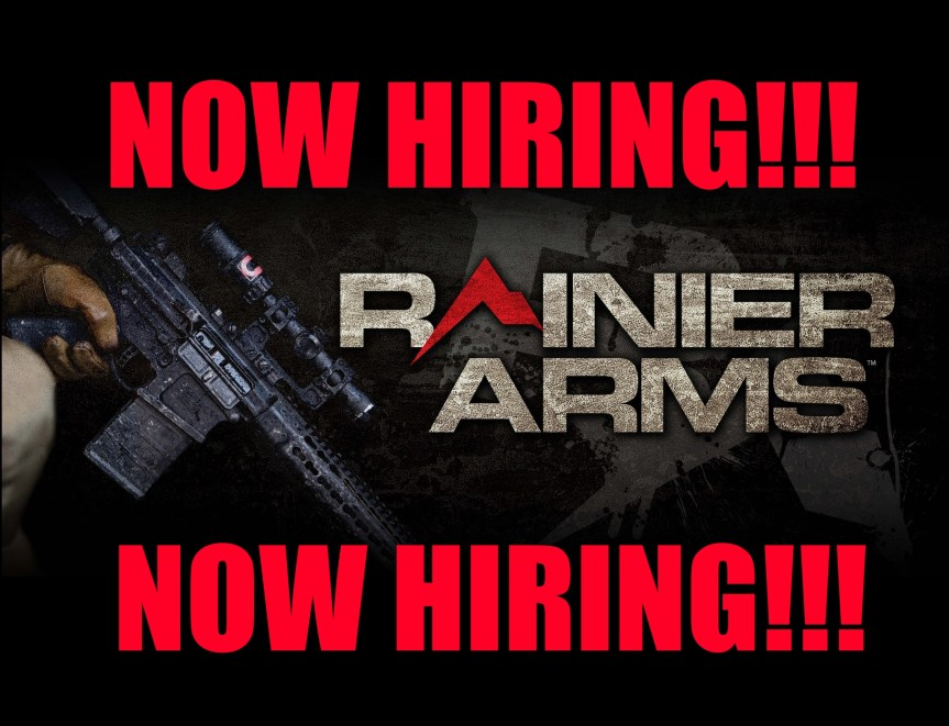 rainier arms now hiring