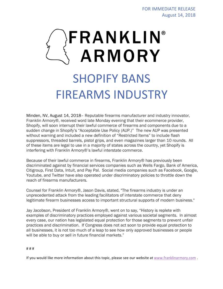 Shopify_Bans_Industry franklin armory-1