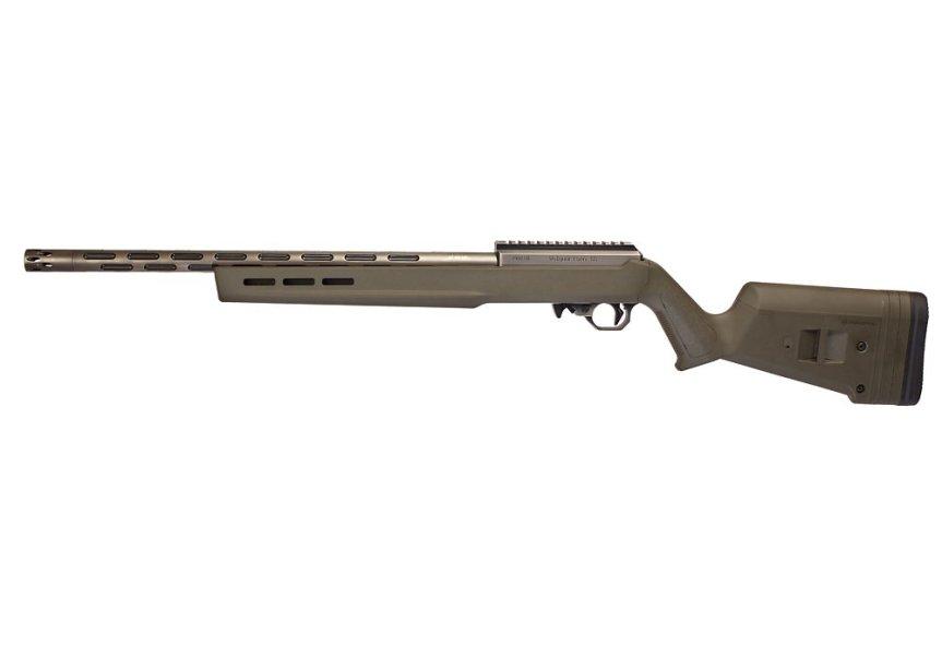 volquartsen battle worn rifle 22lr target rifle sniper 22lr 4