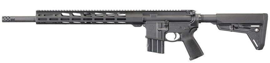 ruger ar-556 mpr 450 bushmaster ar15 model 8522 black rifle tactical gun blog firearmblog ar15 blog attackcopter 6