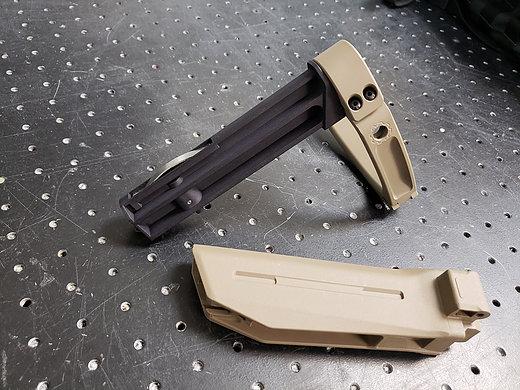 dan haga designs gearhead works tailhook adapter' zhukov tail hook ak47 ak74 sbr pistol attackcopter; gunblog firearmblogs attackcopter 40sw 2