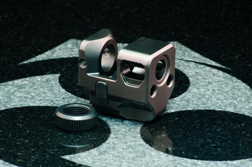 kiler innovations glock compensator 9mm muzzle brake for the glock attackcopter firearmblog gunblog firearm news ar15 tactical black rifle 5
