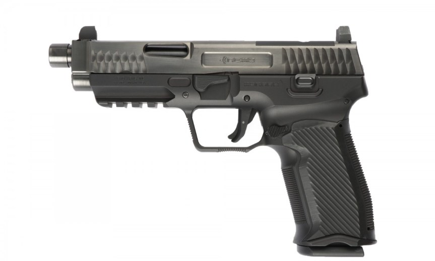 nemo arms monark pistoll; 9mm; tactical; attackcopter; gunblogs; firearm blogs; rmr cut for tactical pistol; suppressor 40sw. black rifle 1