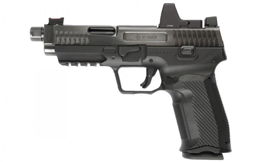nemo arms monark pistoll; 9mm; tactical; attackcopter; gunblogs; firearm blogs; rmr cut for tactical pistol; suppressor 40sw. black rifle 7