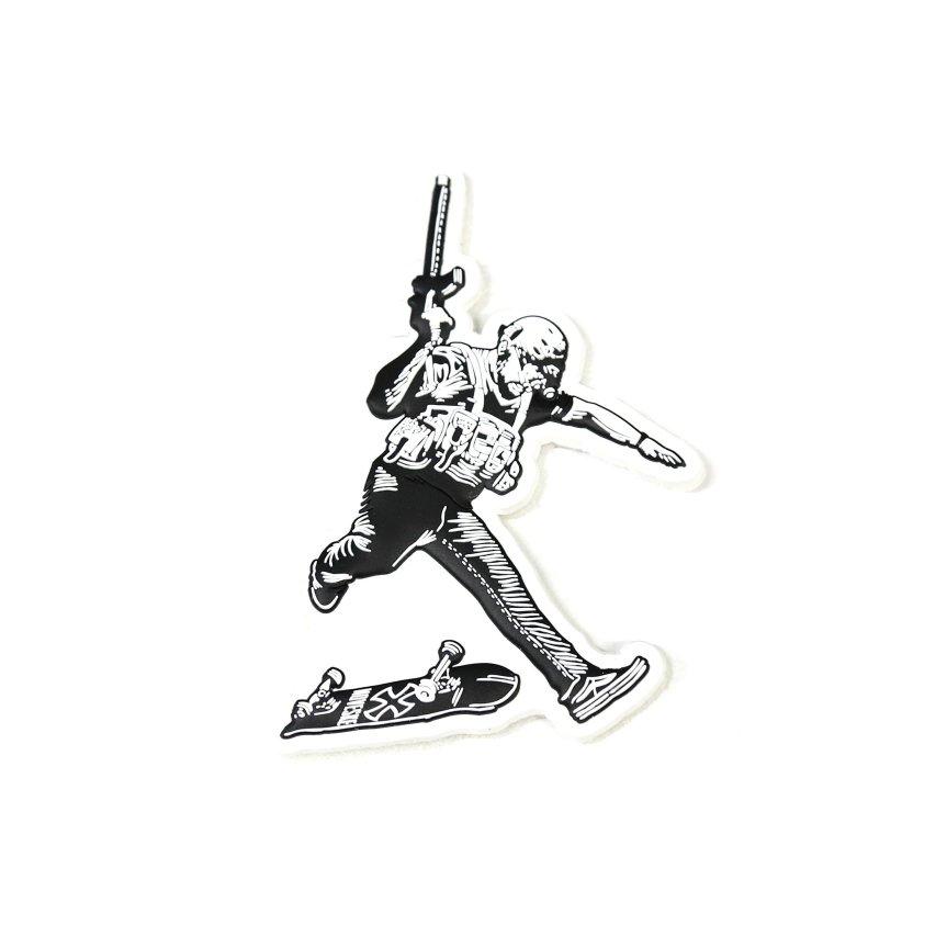 noveske 30secout im the captain now commando kickflip skate board tactical operator 4