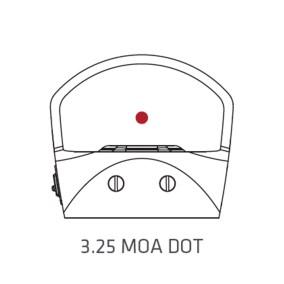 crimson trace cts-1200 pistol red dot small reflex sight