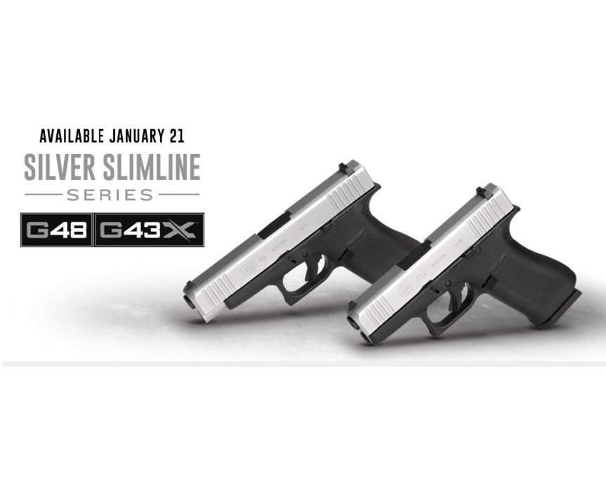 Glock G43x subcompact 9mm glock 48 compact 9mm sliver slimline glock 1