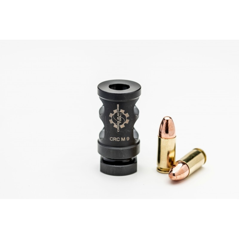 cross machine tool releases the crc-m-9mm muzzle brake! 1