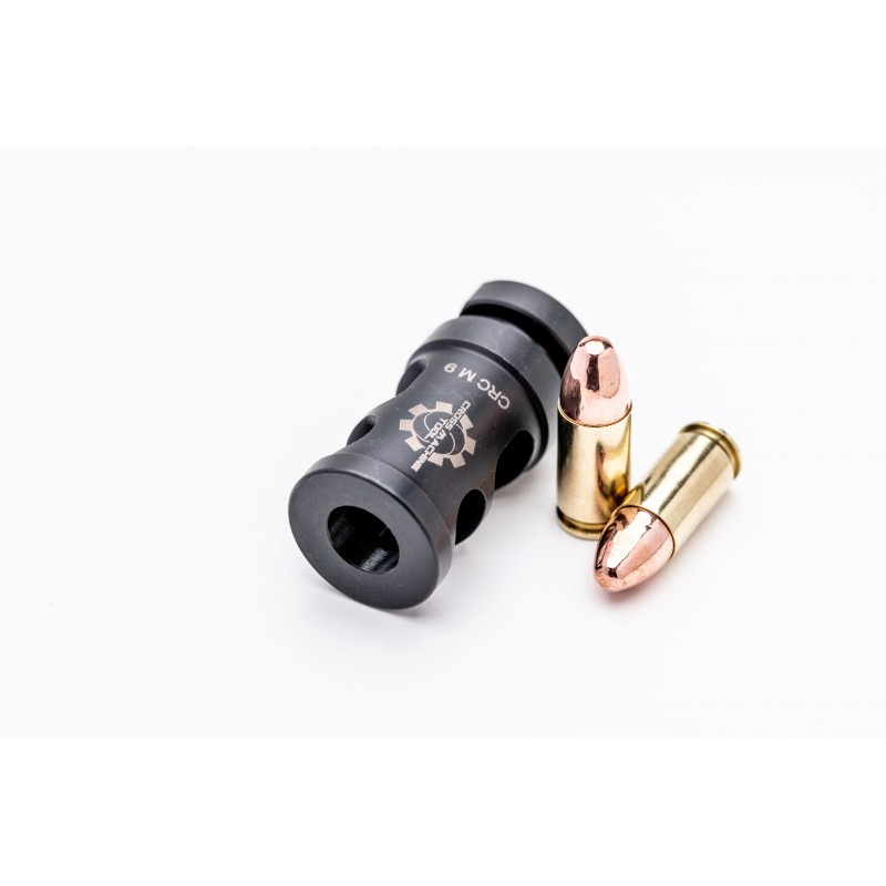 cross machine tool releases the crc-m-9mm muzzle brake! 3