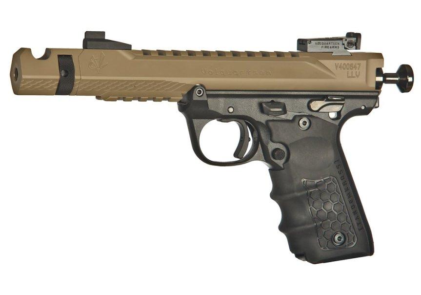 volquartsen firearms black mamba target pistol mkiv 22 45 tactical targit pistol custom build 2