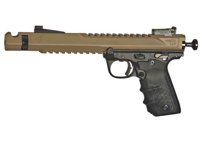 volquartsen firearms black mamba target pistol mkiv 22 45 tactical targit pistol custom build 3