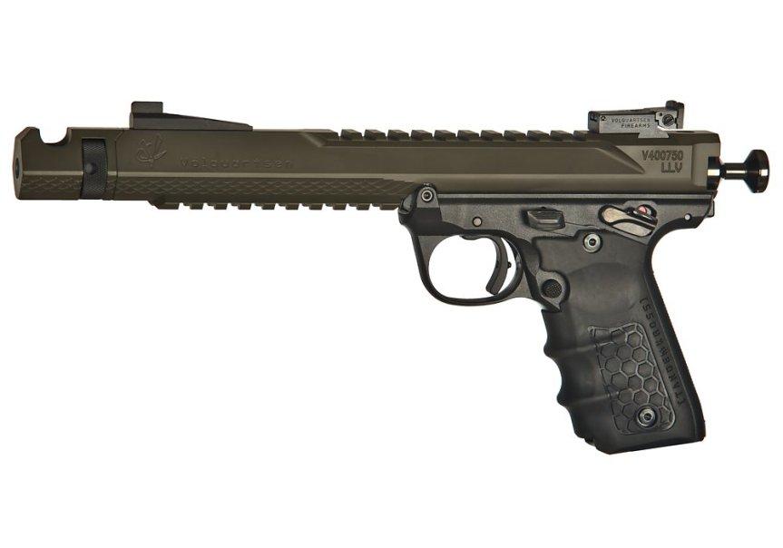 volquartsen firearms black mamba target pistol mkiv 22 45 tactical targit pistol custom build 4