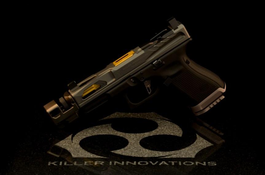 Killer innovations velocity glock slide glock 19 custom glock slide glock19 gen3 custom slide work rmr cut  1.jpg