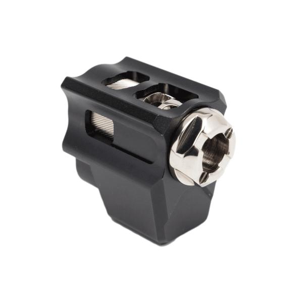 tyrant designs cnc glock t-comp glock gen 5 compensator 9mm guccie glock tactical comp 2