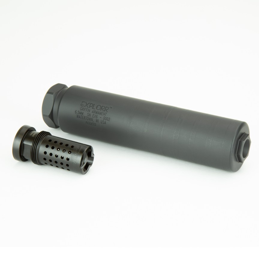grifin armament explorr suppressors 6.5 silencer for the .224  taper mount for my can  5.jpg