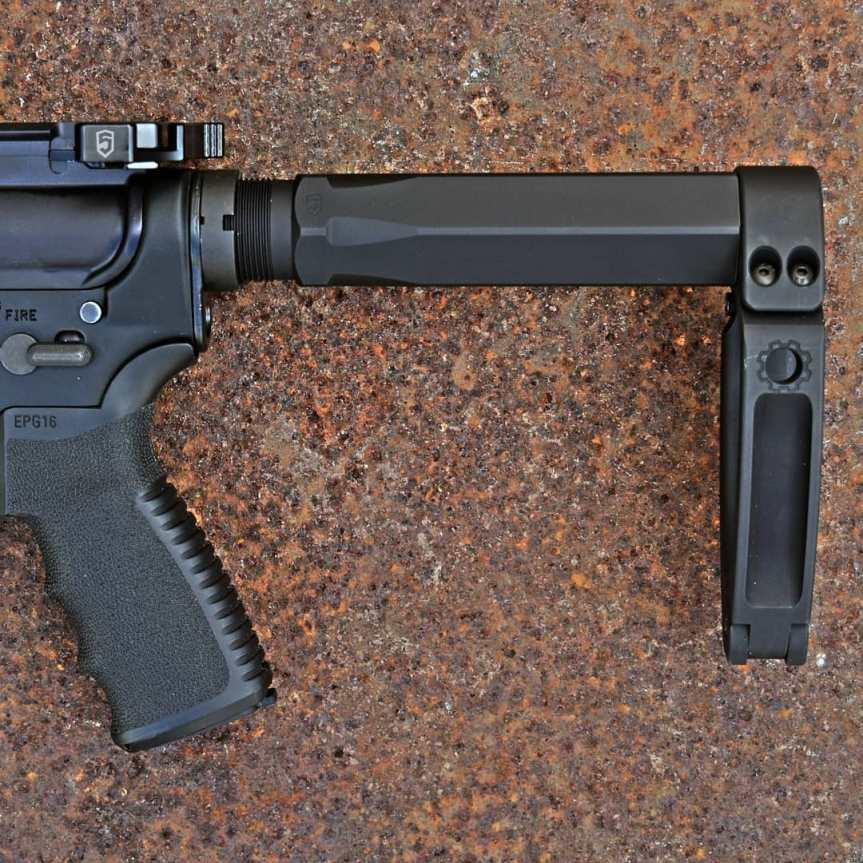 phase 5 weapon systems hex-2 ar15 buffertube for the tailhook pistol brace 1
