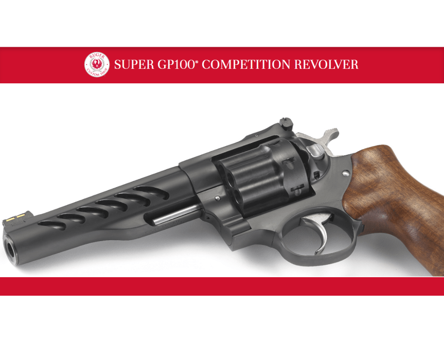 ruger custom shop ruger super gp100 competition revolver race gun revolver model 5065 pvd stainless barrel  1.png